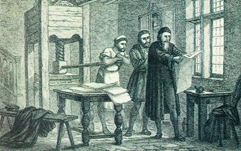 Гутенберг, книгопечатанье