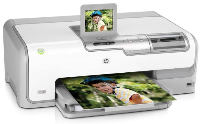 HP Photosmart D7263