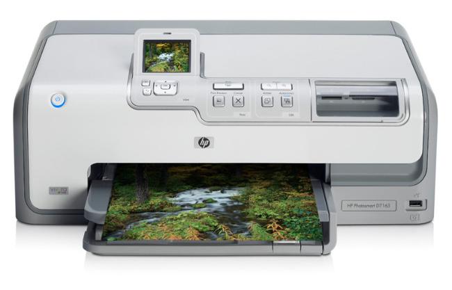 HP Photosmart D7163