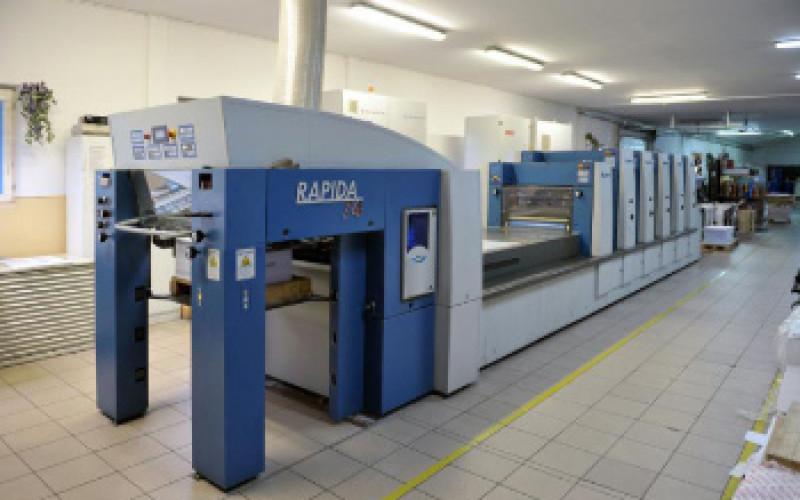 Печатная машина KBA Rapida 74