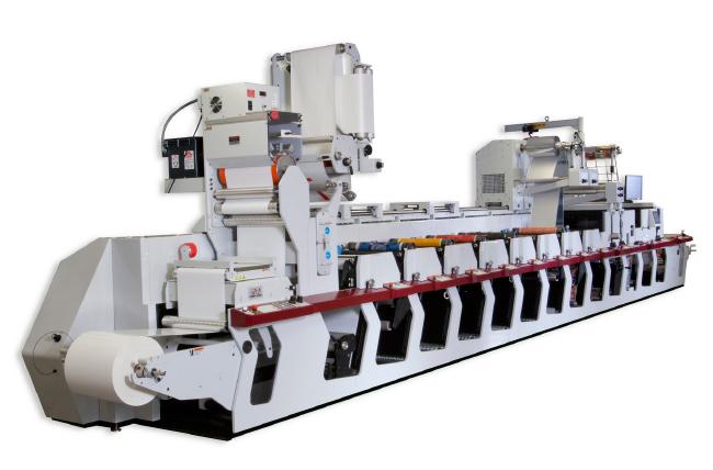 Преимущества флексографских печатных машин