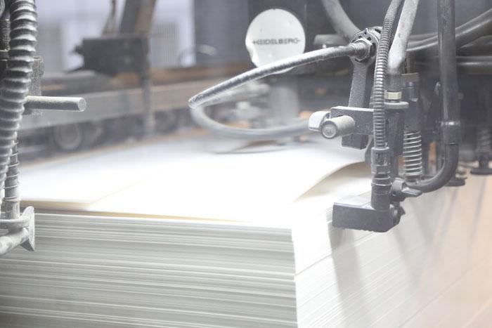 бумага в печати