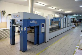 Друкарська, машина, KBA Rapida 74