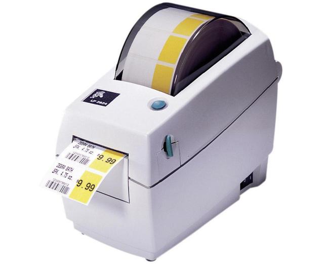 TLP-2824, зебра, принтер