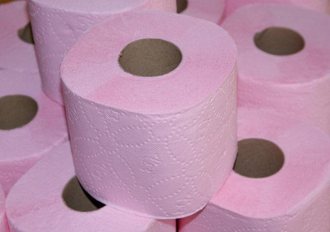 папір, туалетний, види