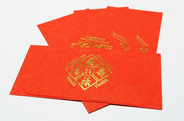 червоні конверти